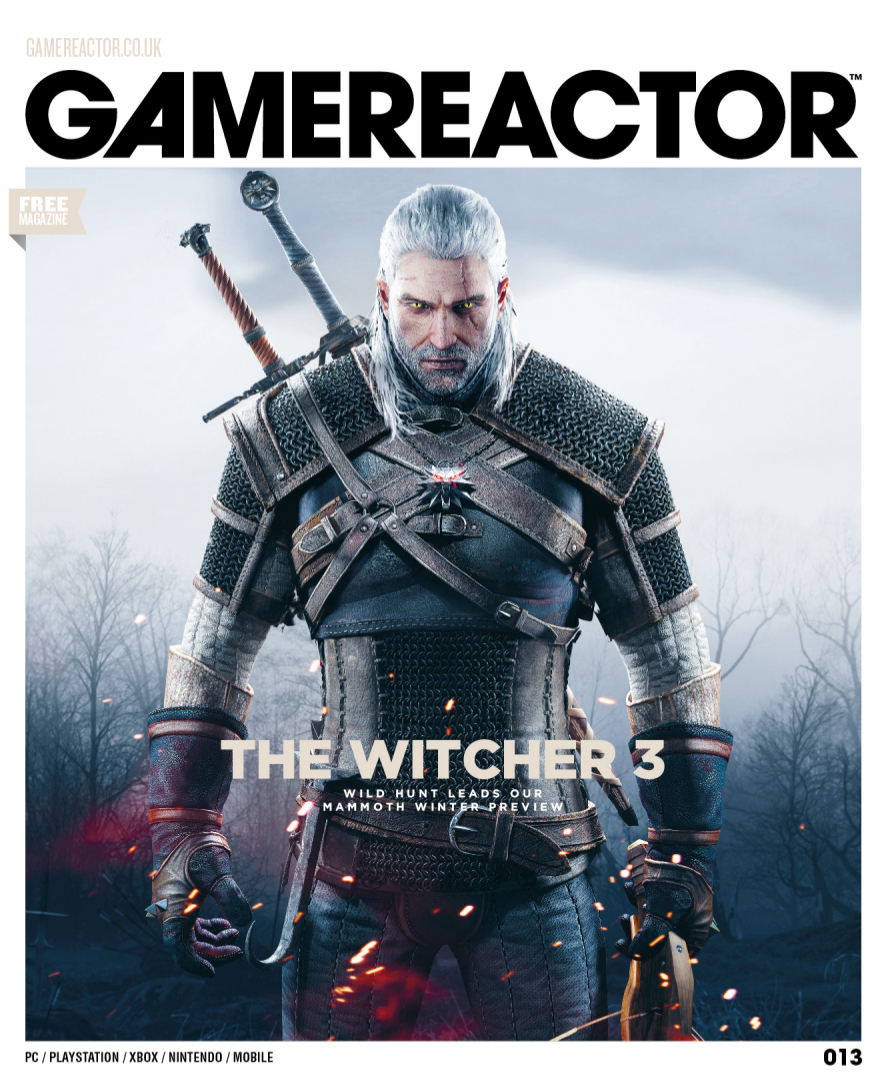 Magazine cover for Gamereactor nr 13