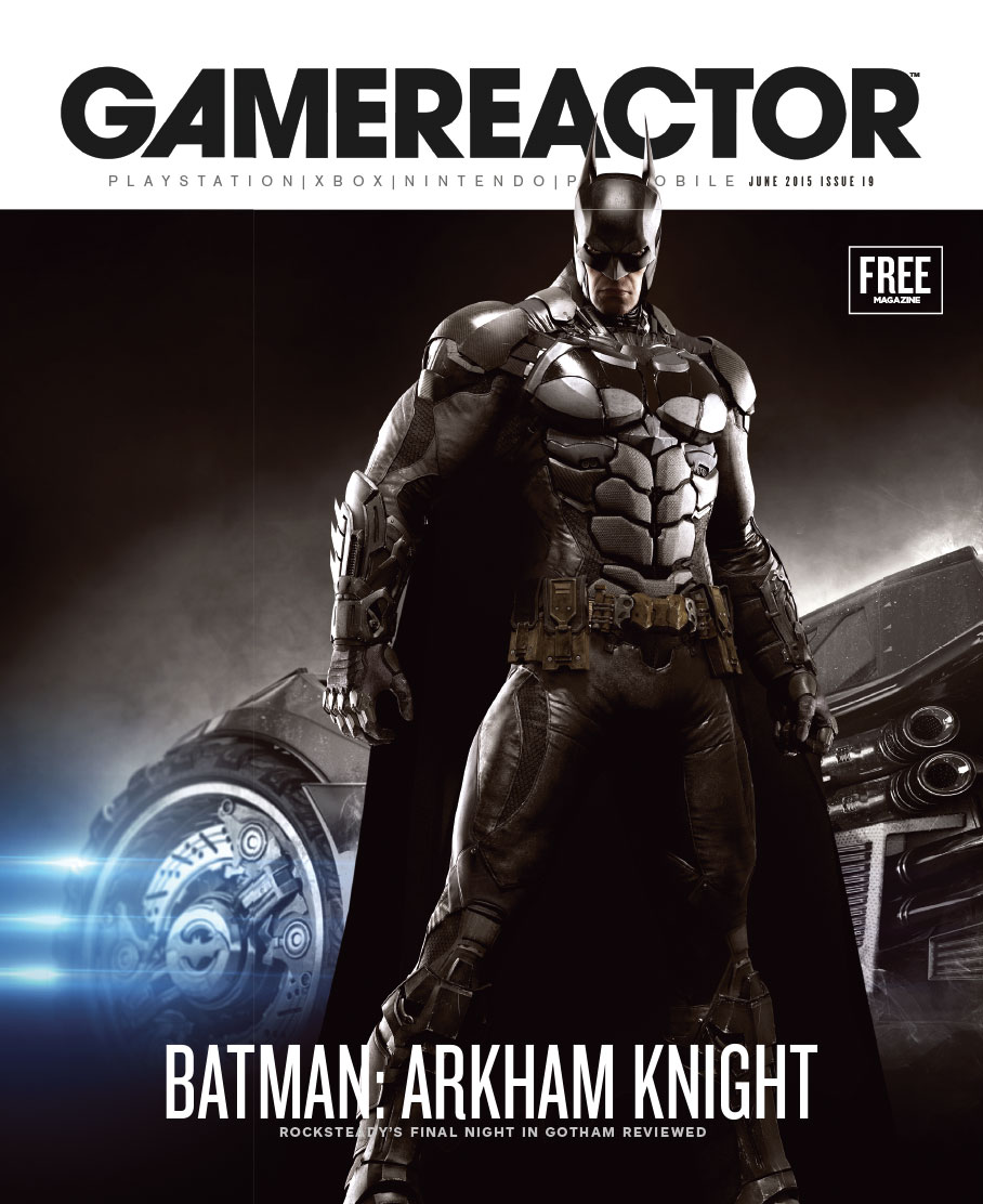 Magazine cover for Gamereactor nr 19