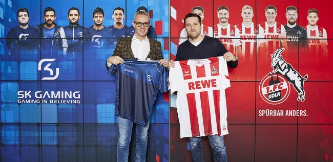 We talk with 1. FC Köln about their partnership with SK Gaming