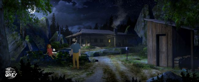 Check out new adventure game The Night is Grey