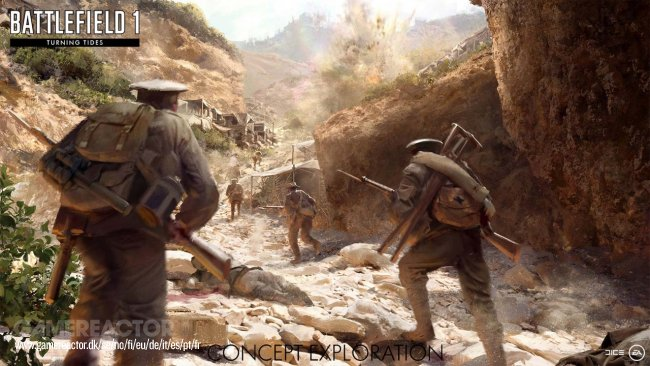 Battlefield 1 getting new Turning Tides content and more