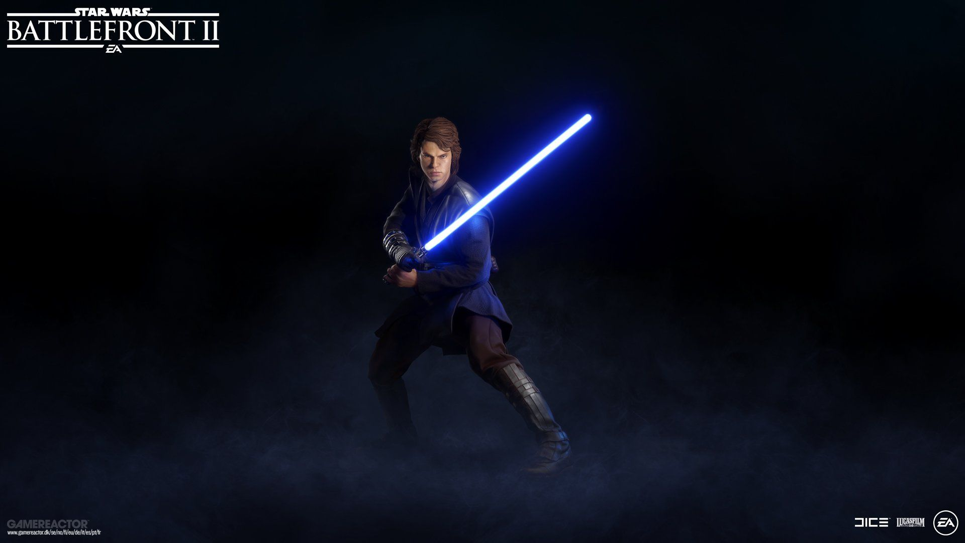 Dice Shows First Look Of Anakin In Star Wars Battlefront Ii