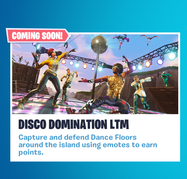 Fortnite S New Game Mode Is All About Dancing