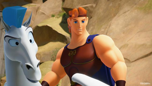 Hercules returns in Kingdom Hearts III screenshots