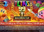 Tetris 99's 19th Maximus Cup is themed after Kirby Fighters 2