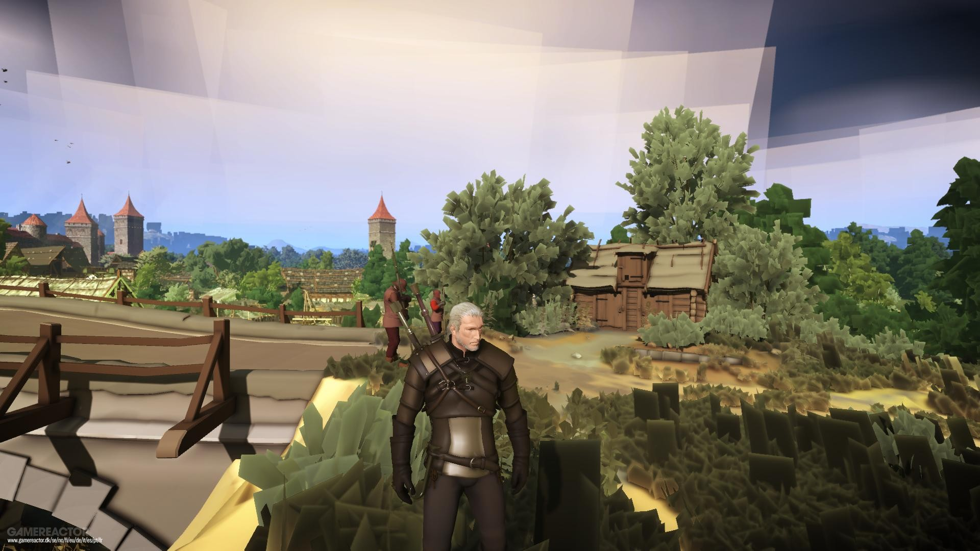 The Witcher 3 with severly downgraded graphics in new mod