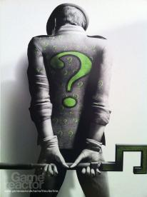 Arkham City gets Riddler art