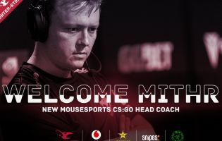mithR joins Mouseports as new head coach