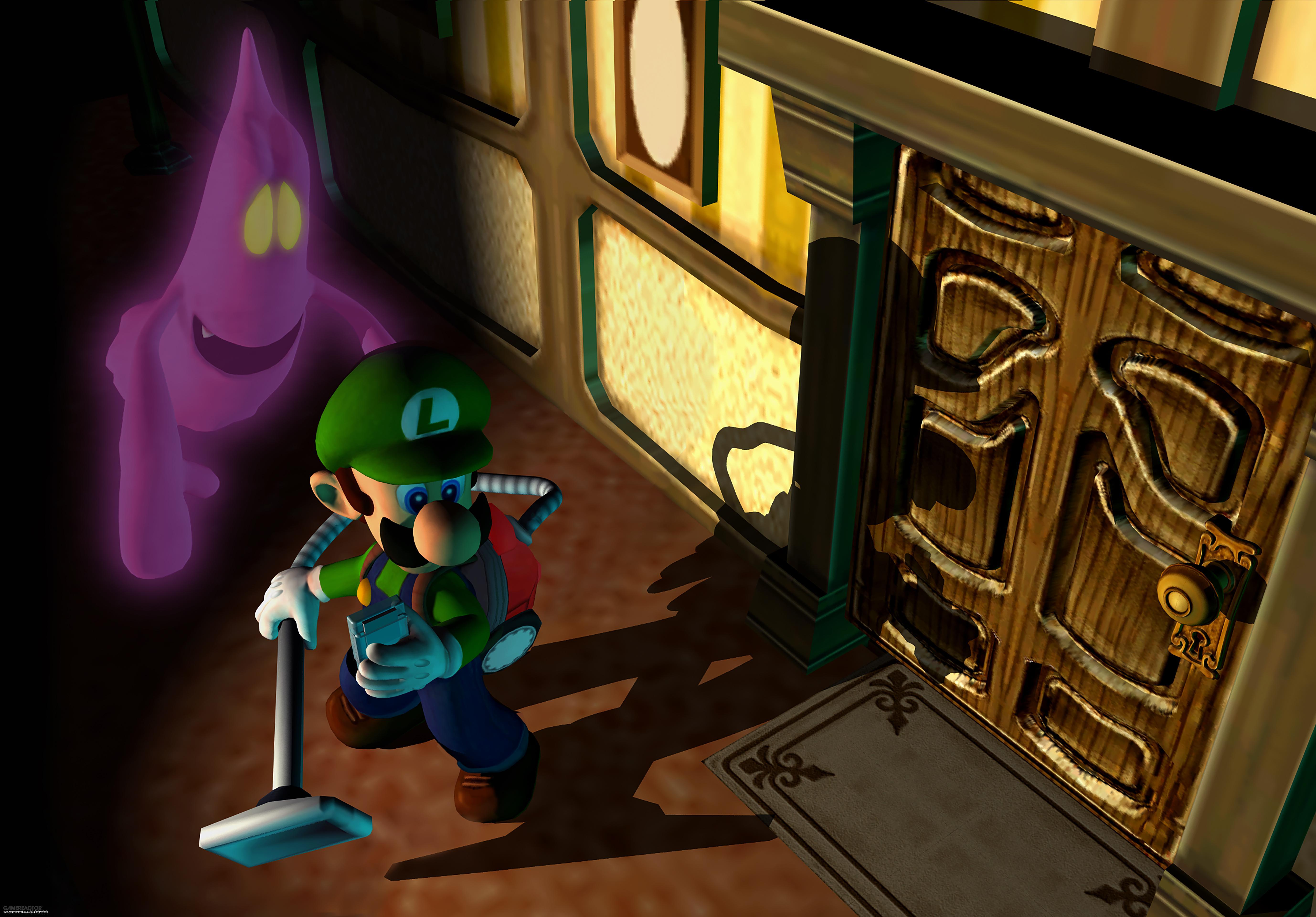 Luigi S Mansion 3ds : Original luigi s mansion gets remake on ds