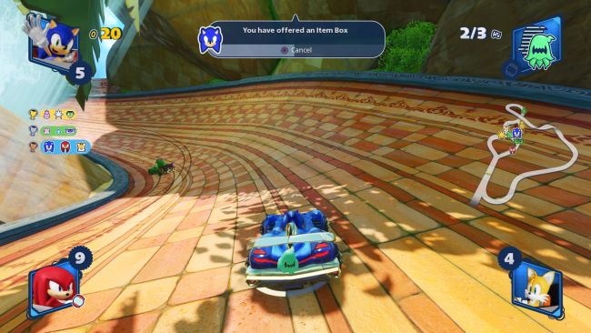 download team sonic racing on android