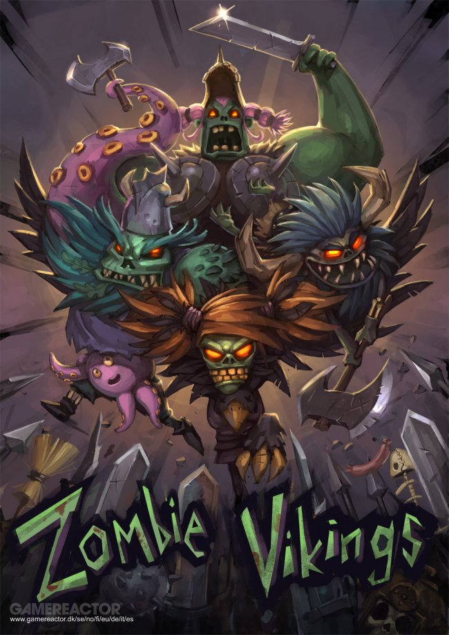 Indie beat 'em up Zombie Vikings announced for Xbox One