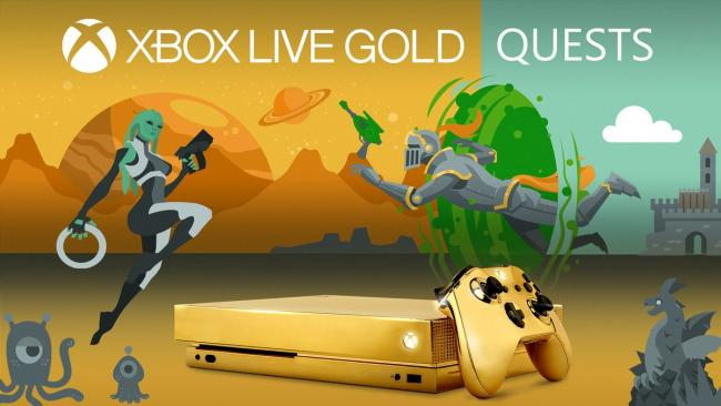 You can win a gold-plated Xbox One X from Microsoft