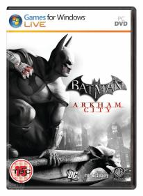 Arkham City gets official box art
