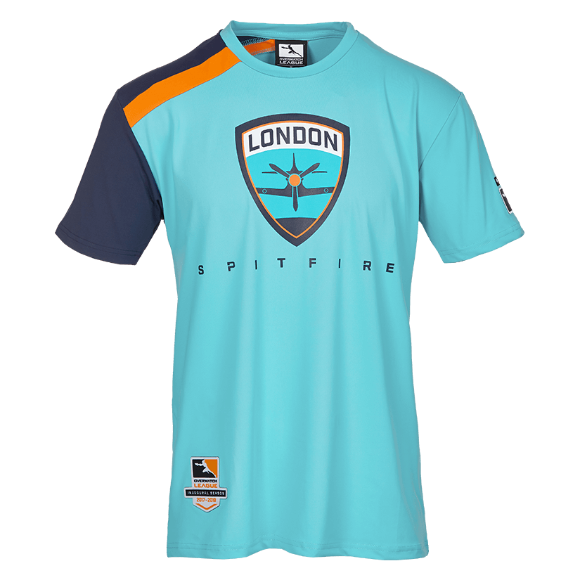 Pictures of Overwatch League playoff jerseys available on