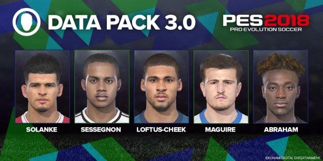 PES 2018 Data Pack 3 coming on Thursday - Pro Evolution