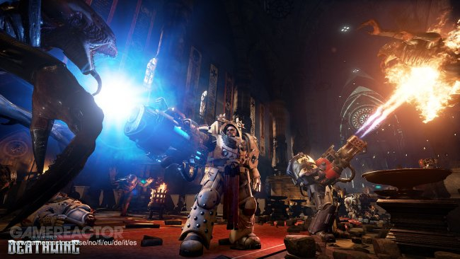 New trailer shows off Space Hulk: Deathwing gameplay