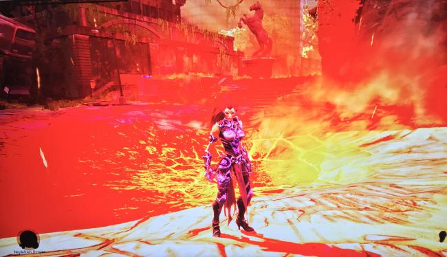HDR has been turned off in Darksiders III