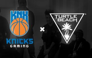 Knicks Gaming and Turtle Beach team up