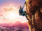 Leaked art has Link rock climbing in the new Zelda Wii U