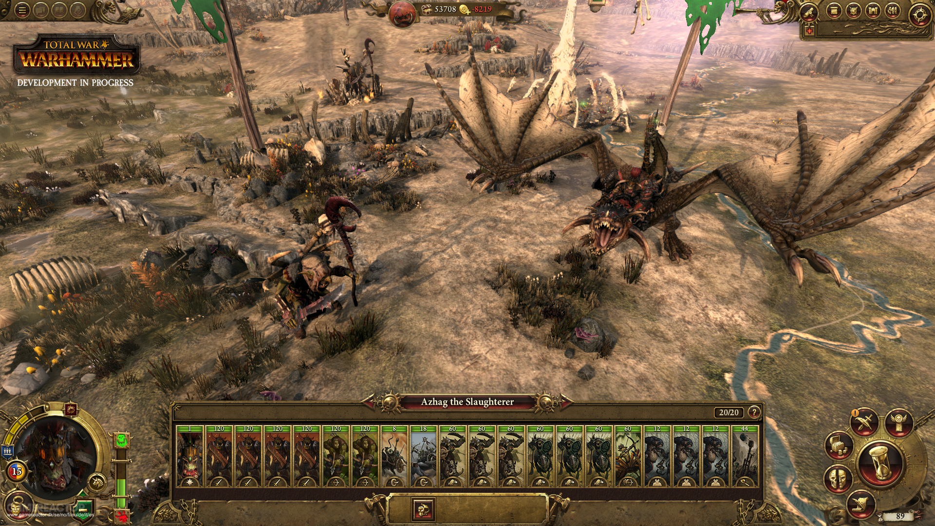 Pictures of First look at Total War: Warhammer's Campaign