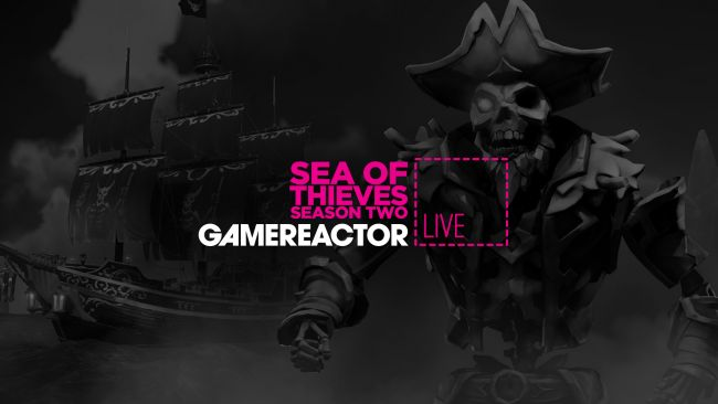 We're playing Sea of Thieves: Season Two on today's GR Live