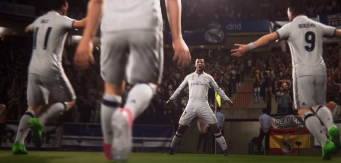 Watch two full matches of FIFA 18