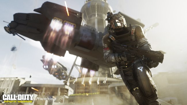 Fresh screens from Call of Duty: Infinite Warfare