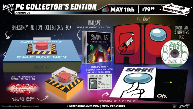 Limited Run is releasing a collector's edition for Among Us on PC