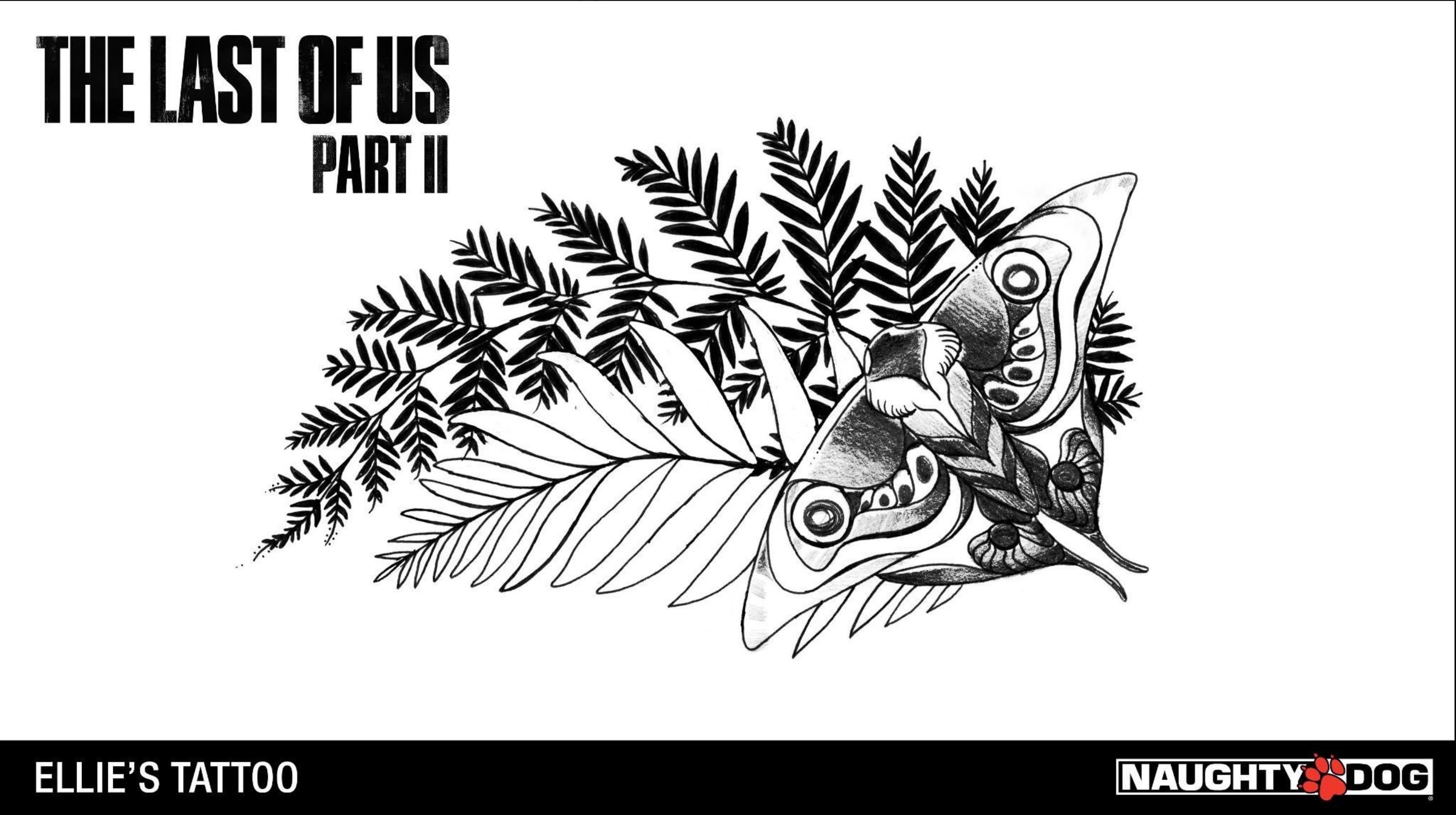 Neil Druckmann Offers Up Ellie S Tattoo Design The Last Of