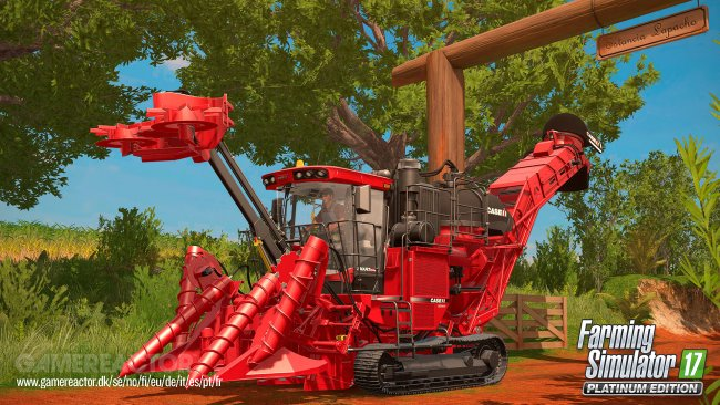 Platinum expansion announced for Farming Simulator 17