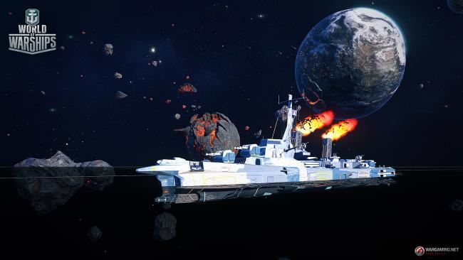 Space ships are heading to World of Warships this week