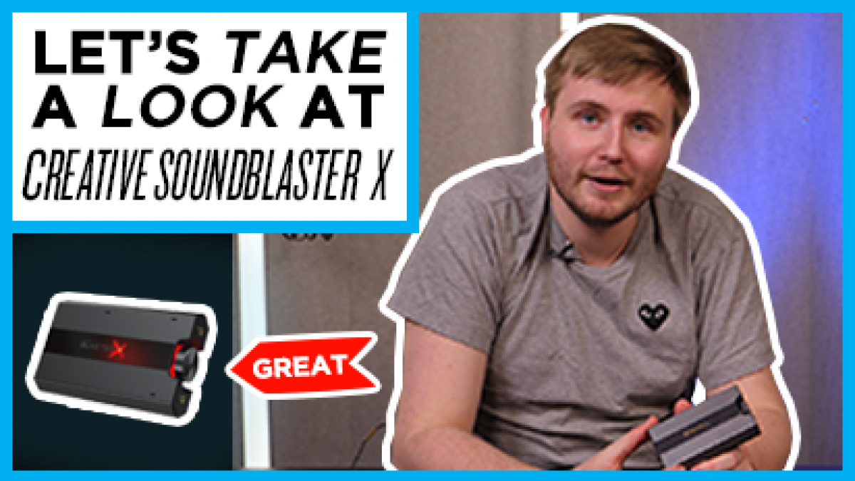 Here's our Quick Look at the Sound BlasterX G6 - - Gamereactor