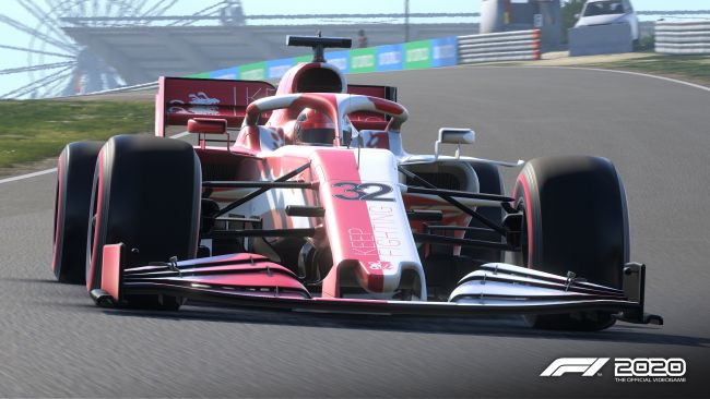 Codemasters releases fundraising Schumacher DLC for F1 2020