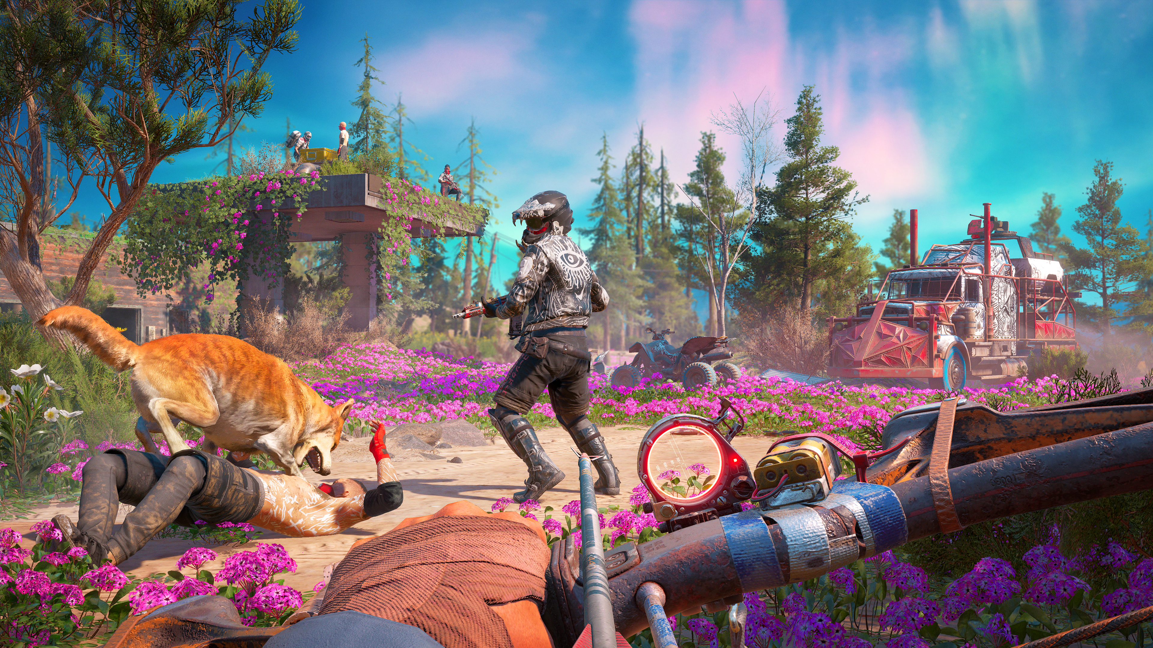 Far Cry New Dawn Preview Gamereactor