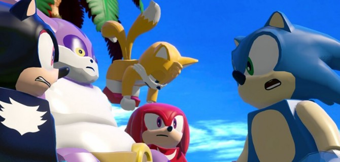 Watch some gameplay from Sonic in Lego Dimensions