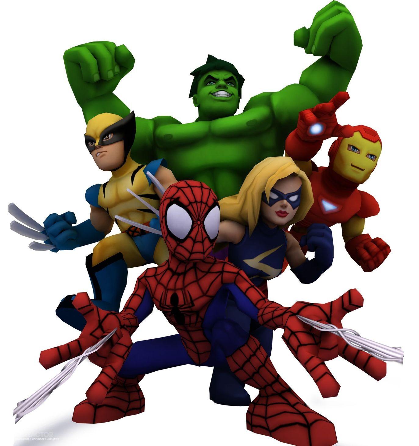 Marvel super hero squad turns two marvel super hero squad online gamereactor - Super heros fille marvel ...