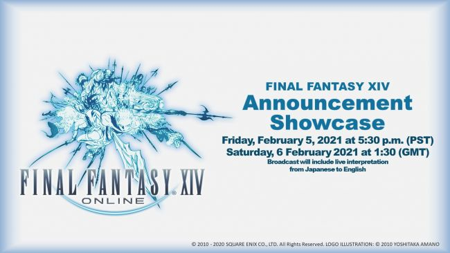 Something cool about Final Fantasy XIV will be announced next February