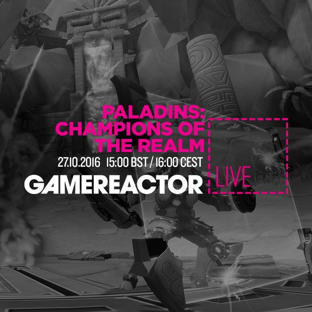 Today on GR Live: Paladins: Champions of the Realm
