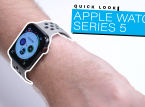 Watch a Quick Look on Series 5 of the Apple Watch