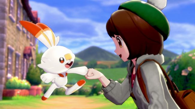 Pokémon Sword gets UK number one in physical charts