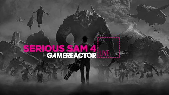 We're playing Serious Sam 4 on today's GR Live