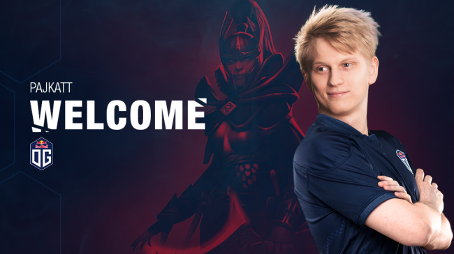 OG reveal that Pajkatt has joined their Dota 2 team