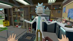 Rick and Morty Simulator: Virtual Rick-ality