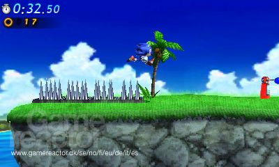 Sonic Generations 3DS pics