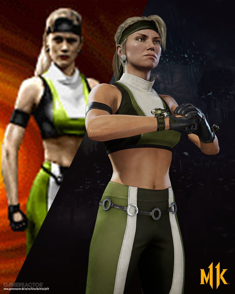 Pictures Of Sonya Blade Gets Classic Outfit Added To Mortal