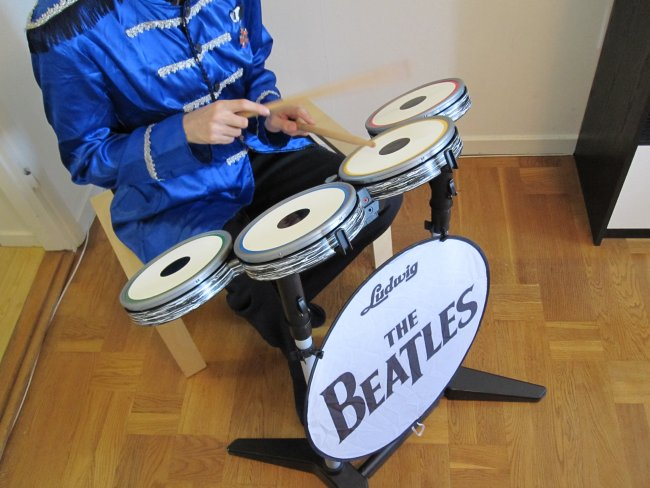 The Beatles instruments
