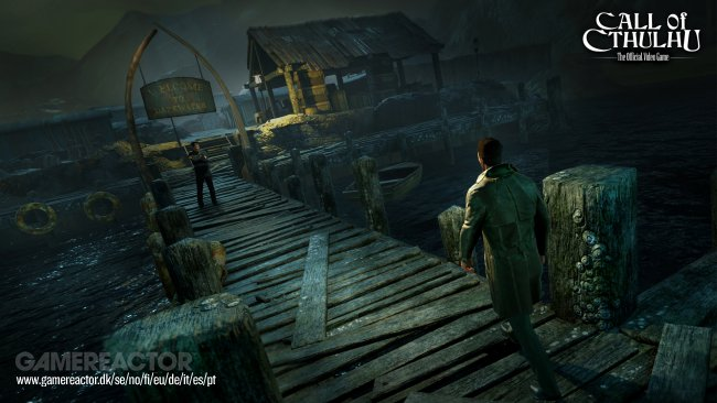 A couple of new images from Call of Cthulhu - Gamereactor UK