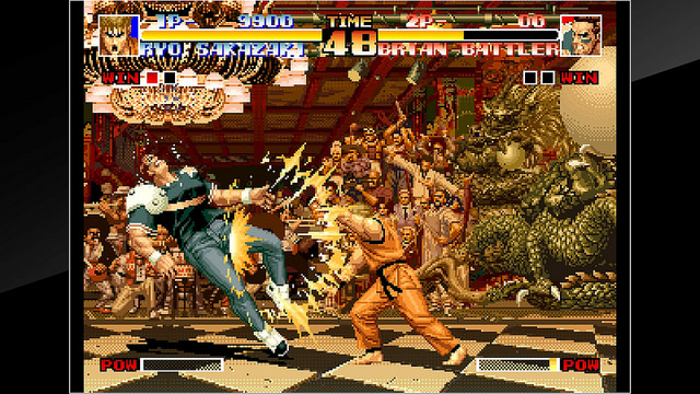 The King of Fighters '94 releases on PlayStation 4 today