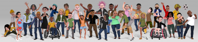 New Xbox avatars available for insiders