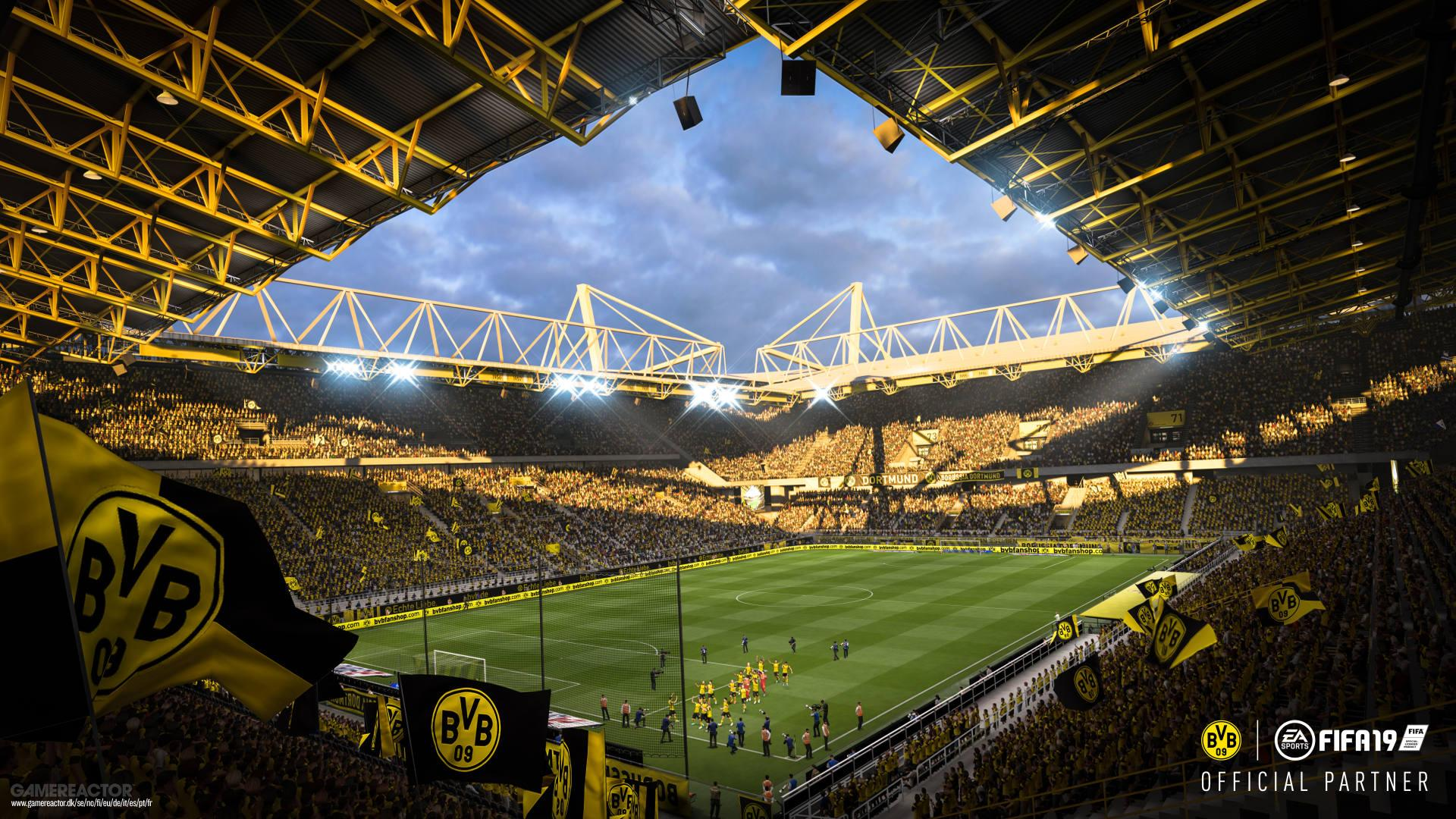Borussia Dortmund Partners Up With Fifa 19